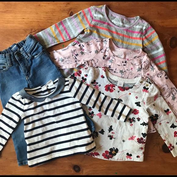 babfbe726 GAP Shirts & Tops | 1824 Month Bundle | Poshmark
